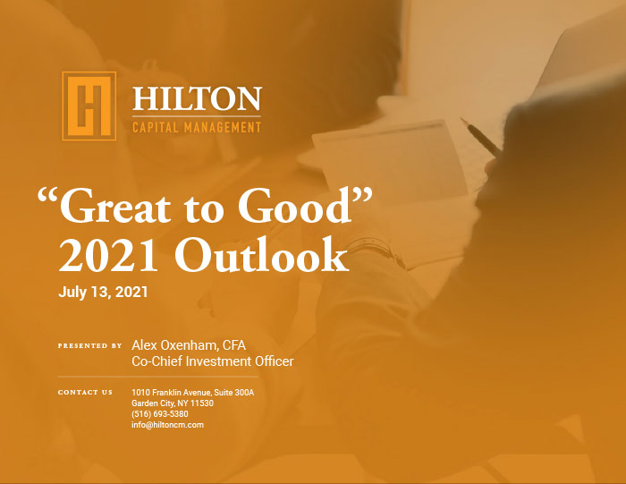 Great to Good Outlook Cover