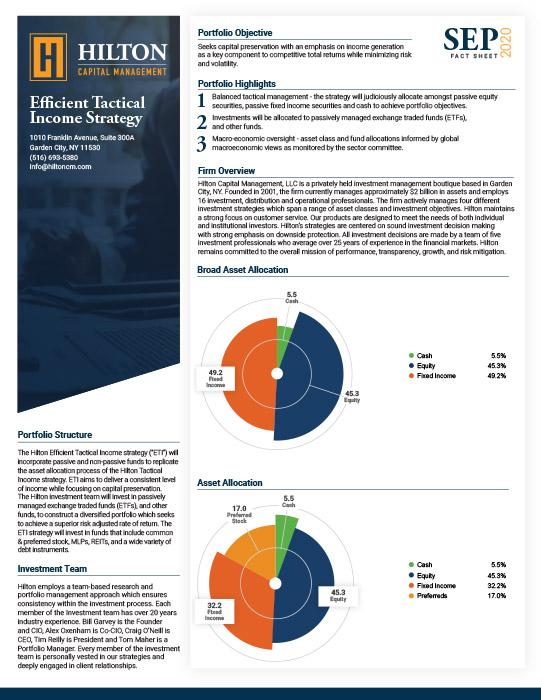 HiltonETI Factsheet